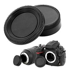Introducing Insten Replacement Compatible With NIKON Body Cap and Lens Rear Cover Cap. Great Product and follow us to get more updates!