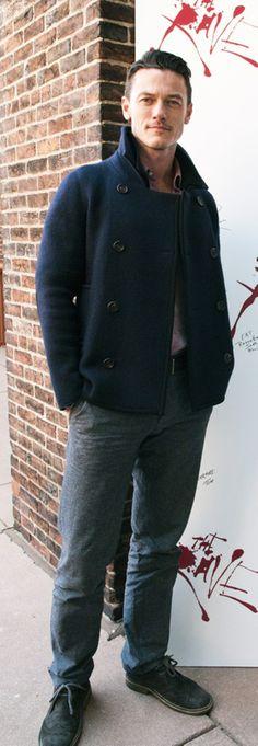 Luke Evans. hes sexy
