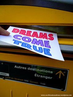Dreams come true #EscribiendoUnAbrazo #abrazoescrito #abrazo #Toulouse