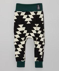 Take a look at this theMINIclassy Black White Geometric Pants - Infant, Toddler Girls on zulily today! Little Fashion, Baby Boy Fashion, Toddler Fashion, Kids Fashion, Little Boy Outfits, Cute Outfits For Kids, Baby Boy Outfits, Toddler Boys, Infant Toddler