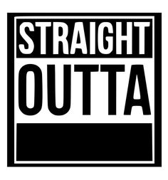 Straight Outta Polis (The Sticker Silhouette Vinyl, Silhouette Images, Silhouette Machine, Silhouette Cameo Projects, Silhouette Files, Silhouette Design, Custom Decal Stickers, Vinyl Decals, Sentences