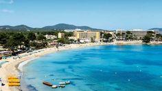 The Beach in Es Cana Ibiza Spain