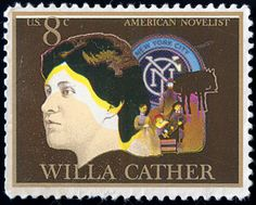 """""""... you must find your own quiet centre of life, and write from that to the world that holds offices, and all society, all Bohemia; the city, the country — in short, you must write to the human heart, the great consciousness that all humanity goes to make up."""" -- Sarah Jewett to Willa Cather"""