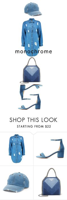 """""""One Color, Head to Toe"""" by bonolon on Polyvore featuring Boohoo, Charlotte Russe, Mudd, STELLA McCARTNEY and monochrome"""