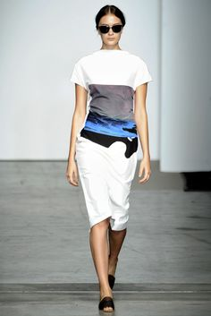 Rachel Comey Spring 2012 Ready-to-Wear Fashion Show - Bianca Luz