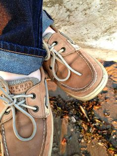 boat shoes. Classic Sperry