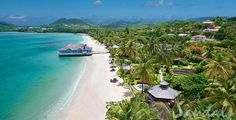 Sandals Halcyon Beach, St. Lucia