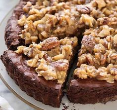 Ingredients:    For the Brownie Pie  6 tablespoons unsalted butter (¾ of a stick)  3 cups HERSHEY'S Semi-Sweet Chocolate Chips (18 ounces)  3 eggs  1 cup sugar  1 tablespoon instant espresso powder  1 teaspoon vanilla  ⅔ cup all-purpose flour  ¼ teaspoon kosher salt  ¼ teaspoon baking