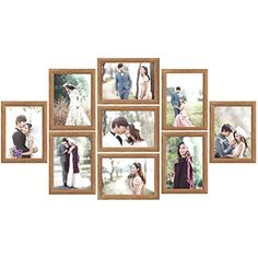 Photo Collage Frames For Walls 4 X 6 Photo Collage Wall Decor Frame Wall Collage, Collage Picture Frames, Frame Wall Decor, Photo Wall Collage, Frames On Wall, Framed Wall, Diy Wall, Photo Collages, Window Frames
