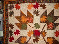 Fall quilt - love it