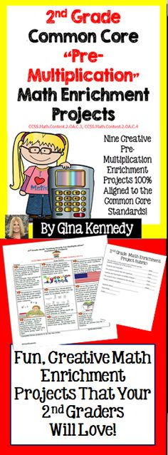 This is a must have for any 2nd grade common core classroom. Nine creative…