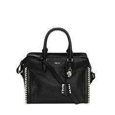 ALEXANDER MCQUEEN | Bags | Grain Calf Leather Small Padlock Zip Around