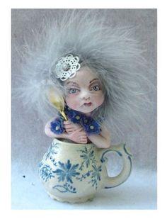 Blue Tea Leaf Fairy in Antique Cup  http://www.ebay.com/itm/150851592442?ssPageName=STRK:MESELX:IT&_trksid=p3984.m1555.l2649