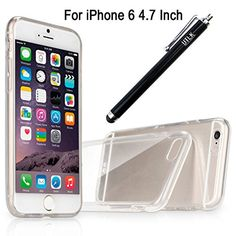 """iPhone 6 Case, UTLK Crystal Clear Gel TPU Rubber Flexible Slim Soft Case for Apple iPhone 6 4.7-Inch Scratch-Resistant Cover (I6 4.7"""" Screen Crystal Clear) UTLK http://www.amazon.com/dp/B00NZ960GQ/ref=cm_sw_r_pi_dp_zlCVub17GBPKA"""