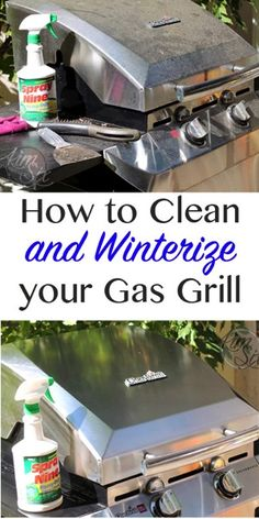 How to clean and winterize your gas grill so you can store it for the winter. Making sure your grill is prepped properly for storage assures that when you pull it out in the spring, you can fire it right up without any trouble!