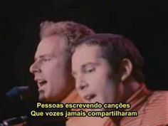 Simon & Garfunkel Sound Of Silence Legendado