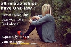 One law: