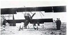 Juan de la Cierva's first airplane