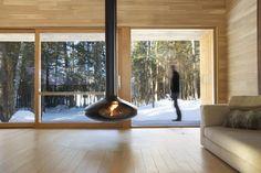 Un chalet-spa   Lucie Lavigne   Architecture