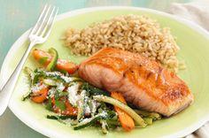 Honey-Balsamic Glazed Salmon