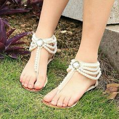 Pearl Designed Sandals