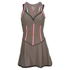 NIKE Women SHARAPOVA Striking Tennis Dress...