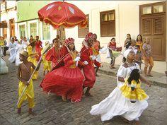 "Carnaval de Olinda. ""Maracatu"". #Olinda. Estado de Pernambuco, Brasil."