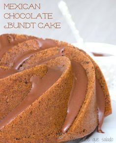 Mexican Chocolate Bundt Cake - Más dulce que salado