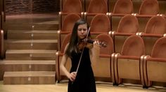 "Clarissa Bevilacqua plays violin Antonio Stradivari 1669 ""Clisbee"""