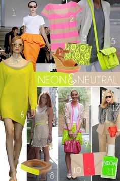 Its on shoes, bags, accessories, skirts, dresses, sweaters...pick one item of your outfit to rock this trend and then keep the rest subtle and neutral!