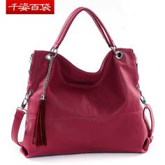 Free Shipping Women's handbag 2012 fashion messenger bag fashion big bags tassel shoulder bag 21650 hot . $52.38