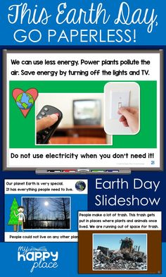 Perfect for shared reading or a read-aloud, this paperless Earth Day PowerPoint Presentation teaches about conservation through simple, informational text. Teaching Themes, Learning Resources, Teacher Resources, Kindergarten Social Studies, Kindergarten Activities, Powerpoint Lesson, Shared Reading, Thematic Units, Science Lessons