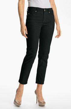 NYDJ Alisha Skinny Stretch Ankle Jeans (Petite) | Nordstrom
