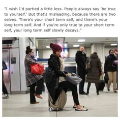 Humans of New York on Facebook. Wise words worth pondering.