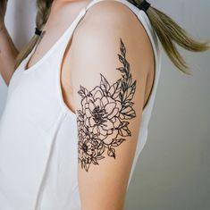 Symmetrical Flower tattoos Ling Flower tattoos Minimal Flower tattoos Long Lasting Temporary tattoo Stickers Summer Fun Pool Game Party Gift Tattoo Line, Arm Band Tattoo, Long Lasting Temporary Tattoos, Inner Arm Tattoos, Thigh Tattoos, Tattoo Sticker, Tattoo Paper, Line Flower, Shoulder Tattoos