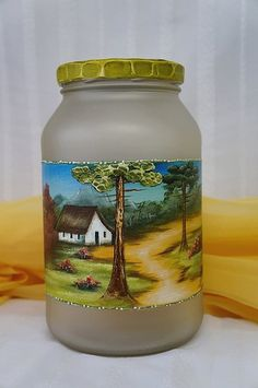 painted glass, pintura sobre vidrio