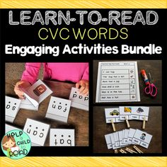 CVC Words Engaging Activities