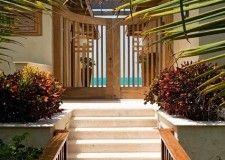 Japanese Gated Entrance Villa Alamandra www.villaalamandra.com