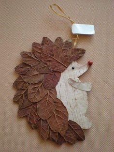 Basteln Schule Igel DIY Naturmaterialien Blätter herrlicher Look Tips On Talking To Kids About Not S Autumn Crafts, Autumn Art, Nature Crafts, Christmas Crafts, Pinecone Crafts Kids, Diy Autumn, Autumn Ideas, Art Nature, Leaf Crafts