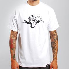 Image of Monopoly Tee (White)