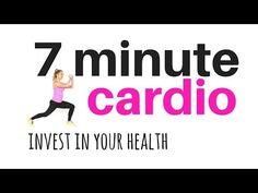 TOTAL BODY CARDIO WORKOUT 7 minute home fitness workout routine - total body to burn fat & tone - YouTube