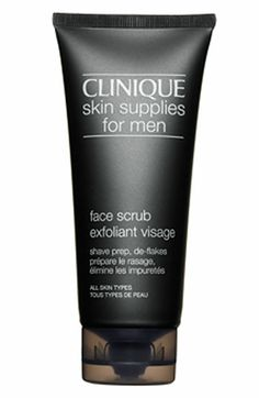 Clinique Skin Supplies for Men Face Scrub available at #Nordstrom
