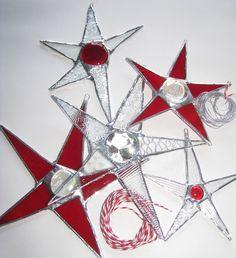 Christmas Window Decor in a Box- Stars Galore (5 Stars)