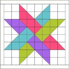 Perfect pattern for a scrappy 30s baby quilt or lap quilt