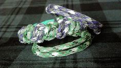Jester's Motley Paracord Bracelet Set by ThrowinWristicuffs, $9.00