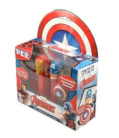 Marvel Avengers Pez Dispenser choose By Name From Drop Down Below Big Clearance Sale Characters & Dolls Advertising
