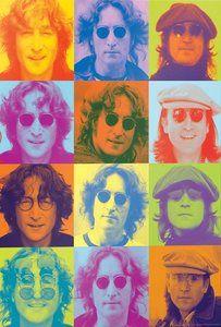 Celebrities: John Lennon - Color Portraits - Jigsaw Puzzle by Eurographics John Lennon, Twister Sister, Wooden Jigsaw Puzzles, Puzzle Box, Portraits, Puzzle Pieces, Custom Framing, Collage, Prints