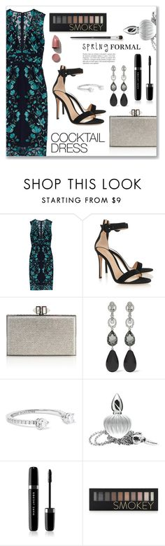 """""""Spring formal, cocktail dress"""" by dressedbyrose ❤ liked on Polyvore featuring Lela Rose, Gianvito Rossi, Judith Leiber, Oscar de la Renta, Delfina Delettrez, Libertine, Marc Jacobs, N°21, Forever 21 and polyvoreeditorial"""