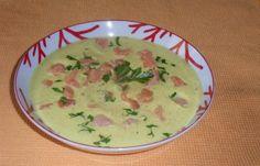 Dukan dieta (hubnutí recept): krém květák s uzeným lososem #dukan…