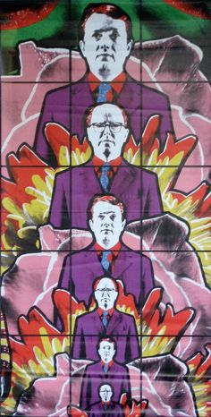 Gilbert and George, Death Hope Life Fear, 1984 Plymouth, Gilbert & George, Sir Anthony, Arte Pop, Male Figure, Vanitas, Photomontage, Art Plastique, Contemporary Artists